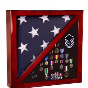 Memorial Flag Cases and Shadow Boxes