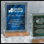 Custom Etching on awards and plaques from Trophy Trolley