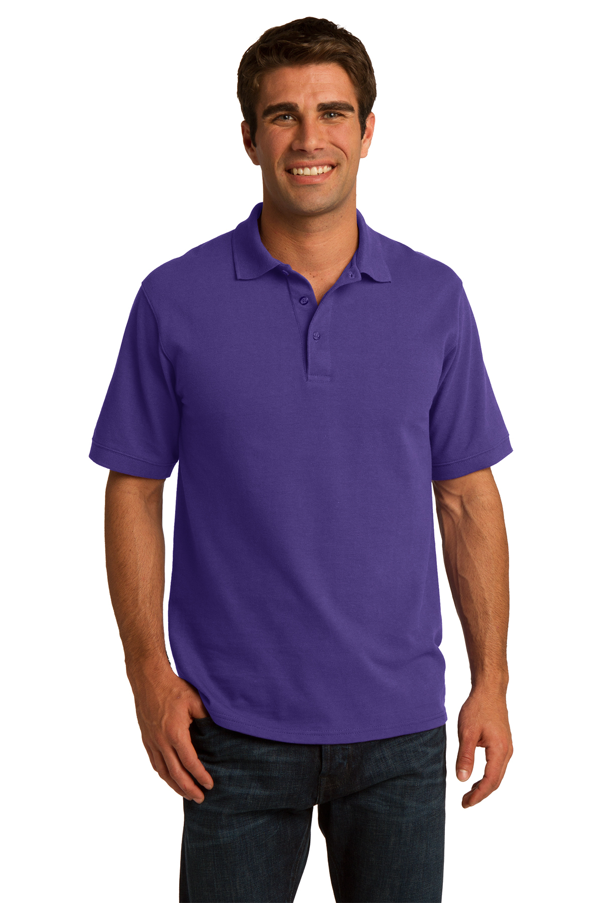 KP155 SALE Port & Company® Core Blend Pique Polo